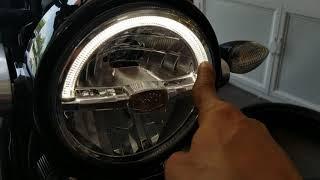 Yamaha XRS 155 Độ pô leovince evo carbon | Phượt safety | 0363898775