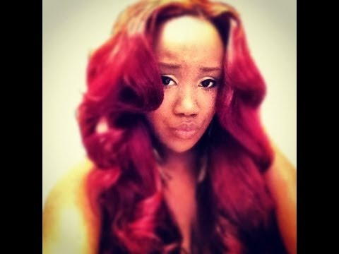 Fresh Natural Hair with Weave Graphics | Best Glaze Implants Yummy ...