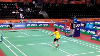 akane yamaguchi highlights india open 2017 badminton bwf superseries   r32   nice camera angle