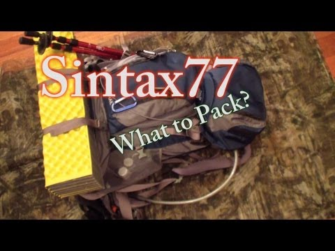 White Mountains Backpacking Prep - Choosing What to Pack - Summer Blitz Hike