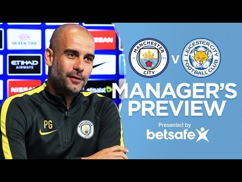 AGUERO FIT FOR WEEKEND | City v Leicester | Guardiola Press Conference