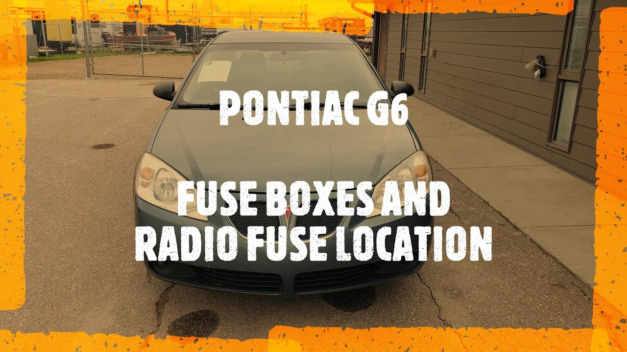 Fuse Boxes And Radio Fuse Location