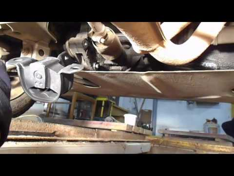 Замена задней подушки коробки двигателя на ваз 2115/Сильная вибрация по кузову