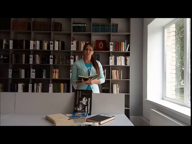 Изображение предпросмотра прочтения – ЕкатеринаПронина читает произведение «Художнику» А.А.Ахматовой