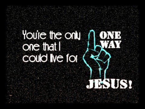 Lyrics to one way hillsong