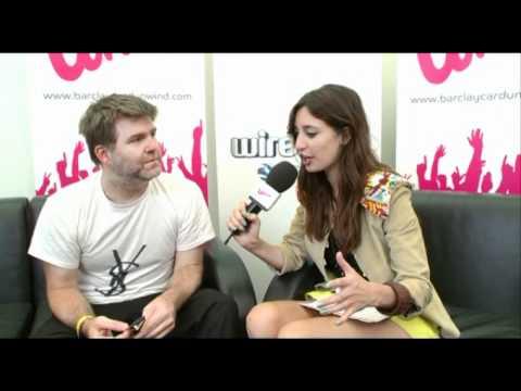 Wireless 2011 | LCD Soundsystem Wireless sponsored by Barclaycard interview