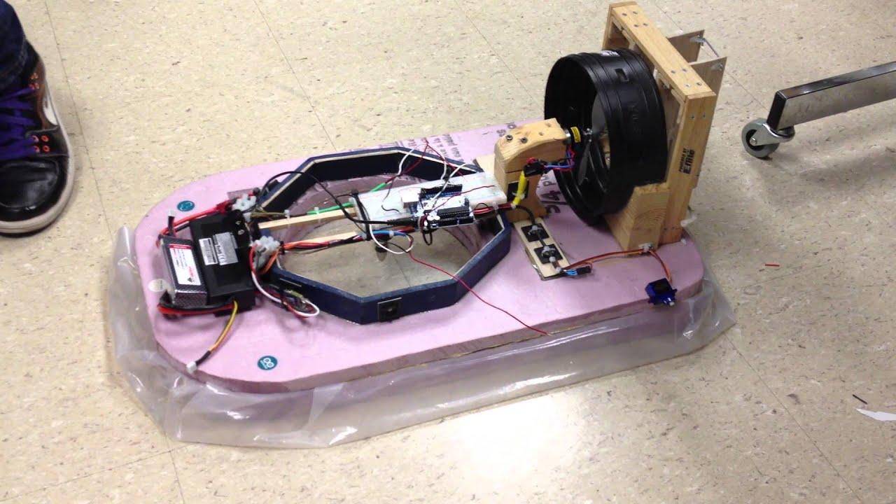 Arduino hovercraft youtube