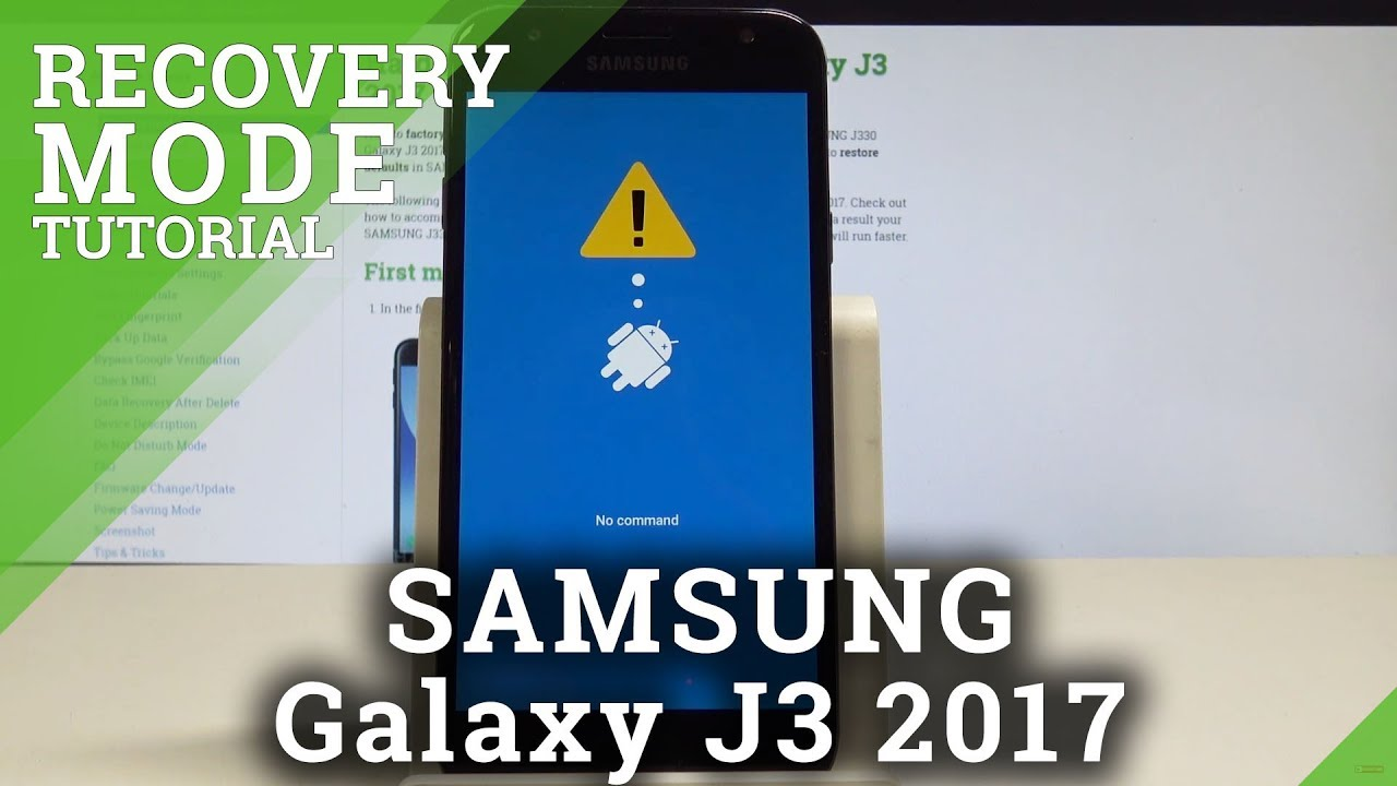 How to Boot into Recovery Mode in SAMSUNG Galaxy J3 2017