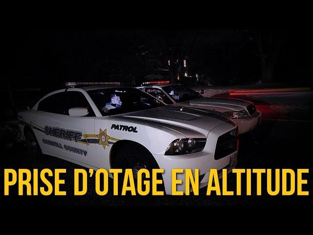 Prise d'otage en altitude - Police sur FailyV - GTA V RP
