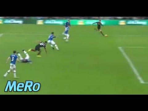 Sergio Agüero Chance ✖️ Everton vs Manchester City 1:0 ✖️ 15/01/2017