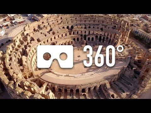 Amphitheatre of El Jem - 360° VR