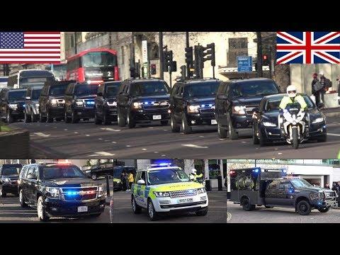 US Presidential Motorcades