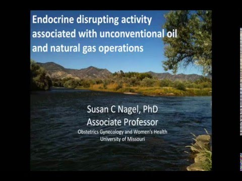 Fracking and Endocrine Disruptors in WV streams