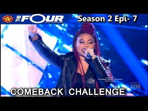 "Lil Bri raps ""All I Do Is Win "" Comeback Challenge Performance The Four Season 2 Ep. 7 S2E7"