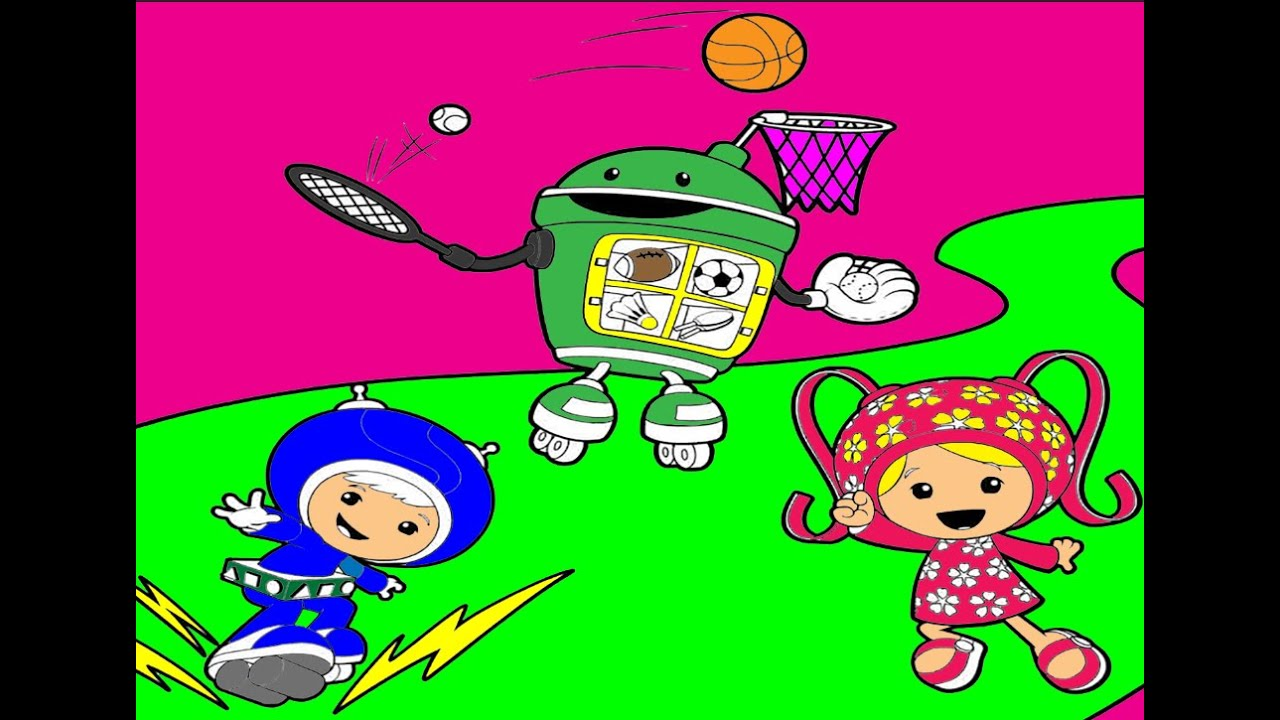 Team Umizoomi coloring pages Umizoomi coloring book YouTube
