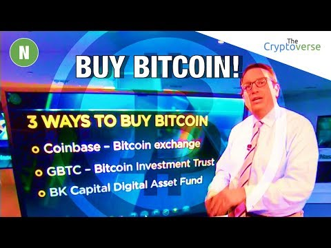 CNBC Brian Kelly Recommends 👍 Bitcoin Investment / Major Derivative Exchange To Launch BTC Trading