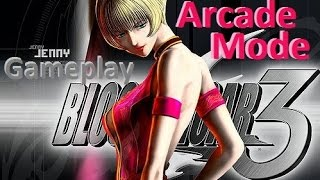 Bloody Roar 3 Jenny Arcade Mode Gameplay Playthrough PS2 HD