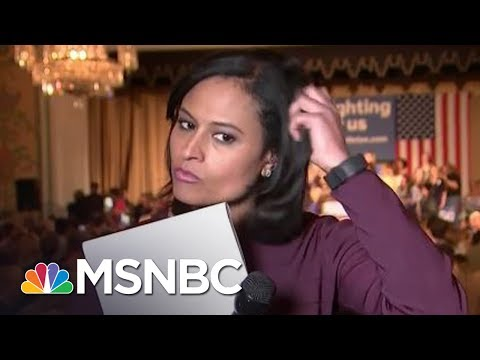 This Is A Step-By-Step Guide To Questioning. | Kristen Welker | MSNBC