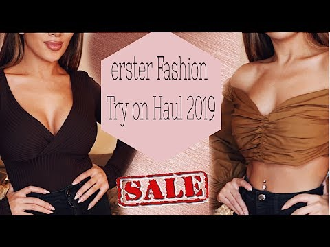 Erster Fashion Haul  2019 ! SALE Shopping + Online ! I Soraya Ali