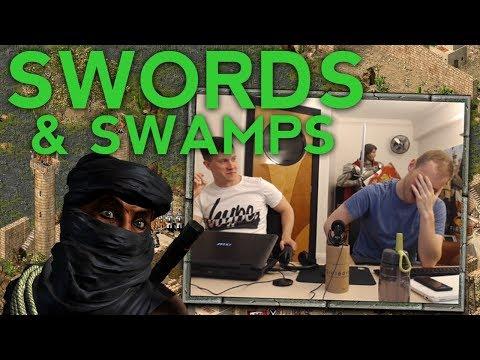Swords u0026 Swamps in Stronghold Crusader - Dev Stream Highlights