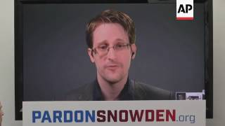 Rights Groups Ask Obama To Pardon Snowden