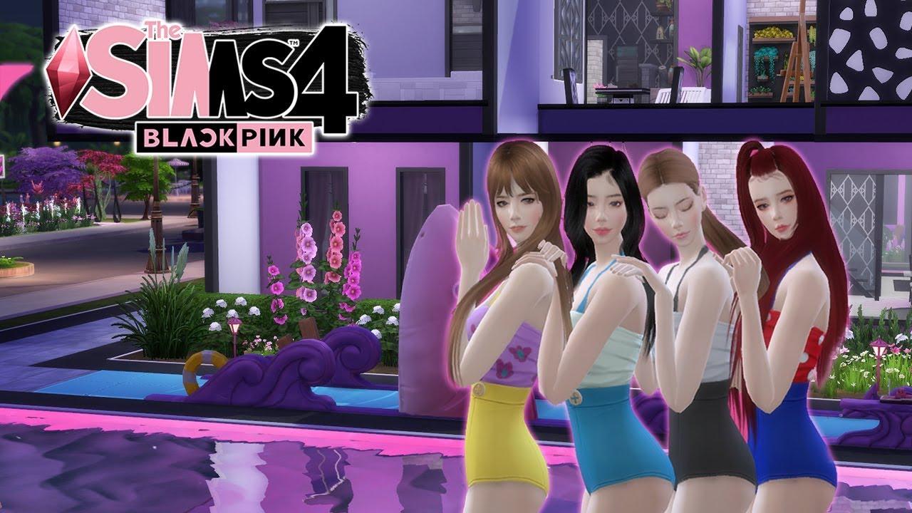 THE SIMS 4 BLACKPINK | สาวๆในชุดว่ายน้ำ อร๊างงงงเขิลล! EP.5