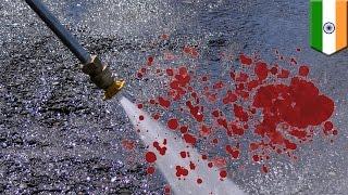 인도의 세차업자, 항문에 호스를 집어넣어 동료 죽여