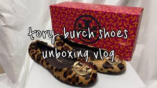 TORY BURCH SHOES unboxing vlog