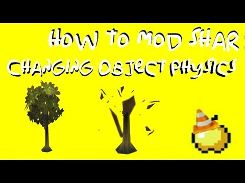 Changing Object Physics [How to mod The Simpsons: Hit and Run] Episode 30