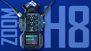 ZOOM H8 Audio Recorder Review: A Swiss Army Knife Audio Recorder