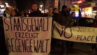 Frankfurt gegen Rassismus - In Erinnerung an Oury Jalloh (HD)