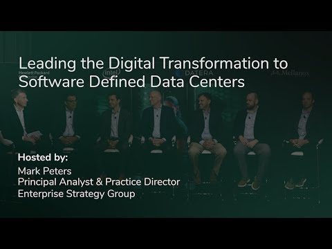 Leading The Digital Transformation To Software Defined Data Centers