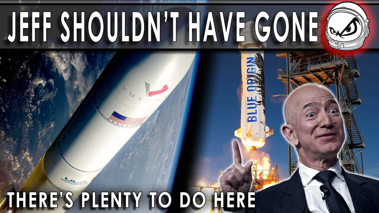 Why Jeff Bezos should NOT have gone to space yet!! (But Wally Funk? YES!!)