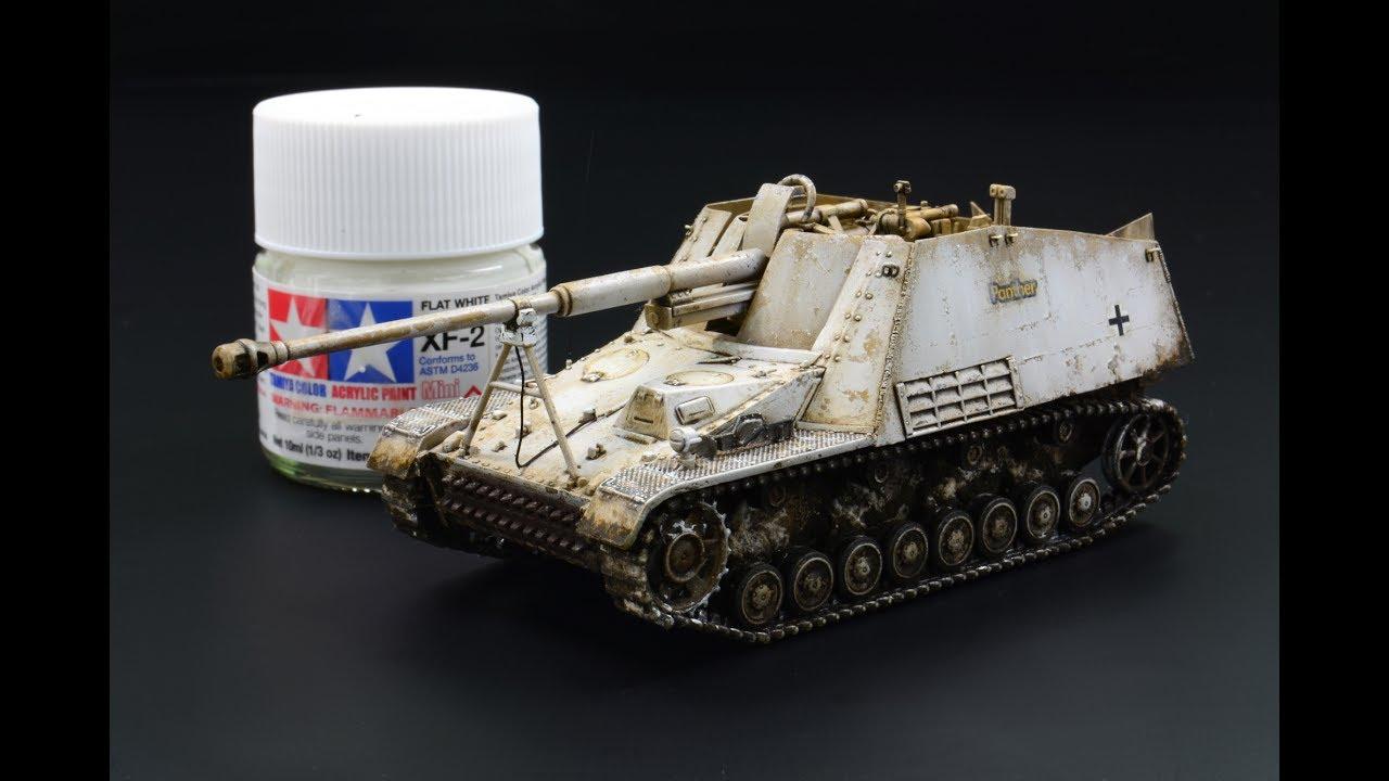 Panzerjager Sdkfz 164 Nashorn 1 72 Revell Tank Model Youtube