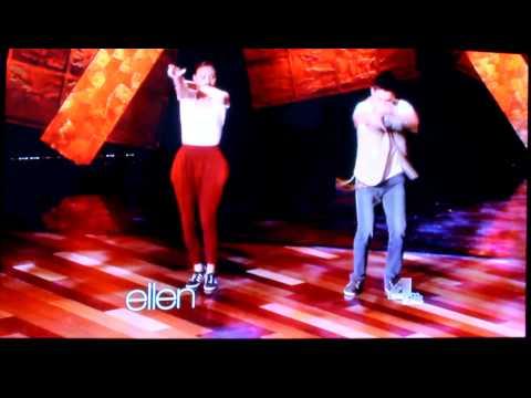 Keone & Mariel Madrid performing on the Ellen Show