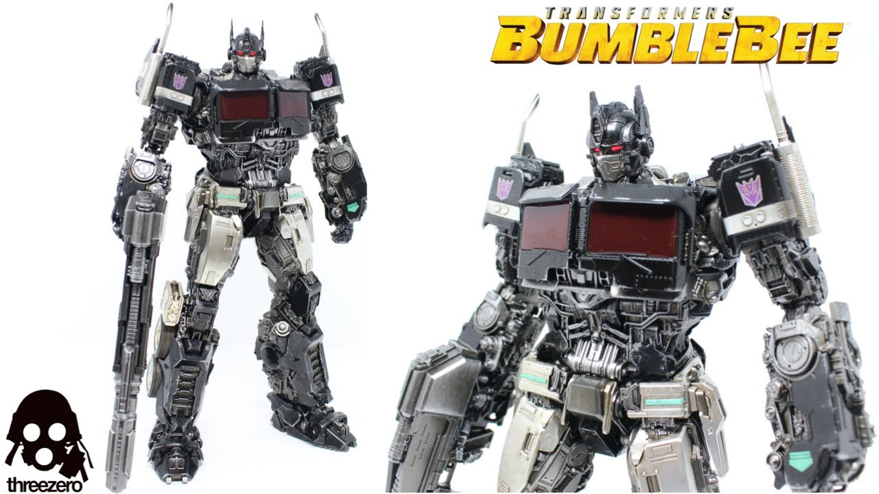 ThreeZero Transformers DLX Nemesis Prime In-Hand Review