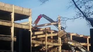 MUST-SEE ☡ Nottingham Broadmarsh Bus Station Demolition in Progress!! 💣💣💣💥 (November 2017)