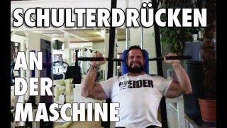 Schulterdrücken an der Maschine | Sätze, Wiederholungen, Gewichte | Body Power Studio Weissenthurm