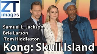 The film premiere of Kong: Skull Island held In London, UK.