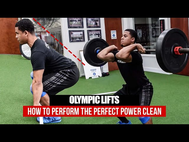 How To Perform The Power Clean | Olympic Lifts 101 | Daru Strong Tutorials