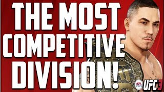 UFC 3:  THE MOST COMPETITIVE DIVISION! (MIDDLEWEIGHTS!)