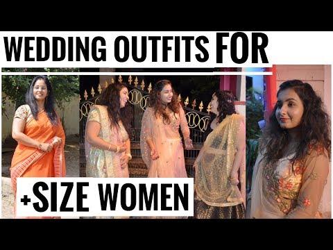 WEDDING OUTFIT IDEAS FOR PLUS SIZE WOMEN | VLOOKBOOK | UPAASANA LAMBA