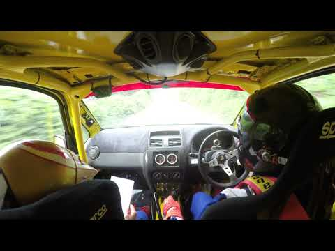 Sprint Rally 2017 Medan Kejurda IMI SUMUT PUT. IV (Onboard Agha & Apin)