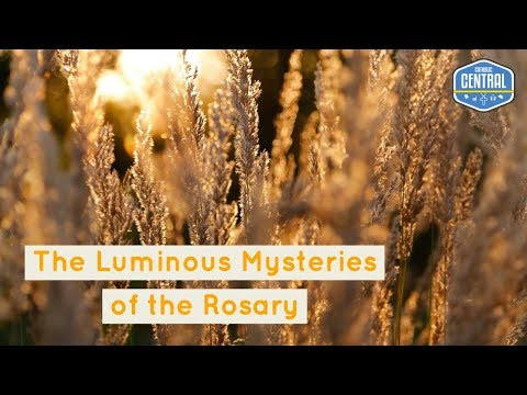 The Rosary: Luminous Mysteries | Catholic Central