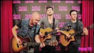 "The Script - ""Hall Of Fame (Acoustic  Perez Hilton Performance)"""