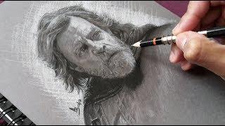 Drawing LUKE SKYWALKER | Hyper Realistic PORTRAIT Art