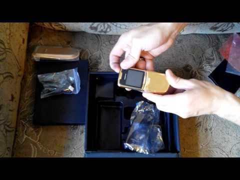 Распаковка Nokia 8800 Gold
