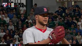 MLB The Show 18 (Boston Red Sox Season Mode) Game #73 - BOS @ SEA