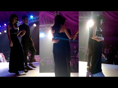 Romantic Couple Dance On Wedding,