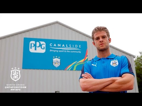 Interview: new HTAFC player Martin Cranie